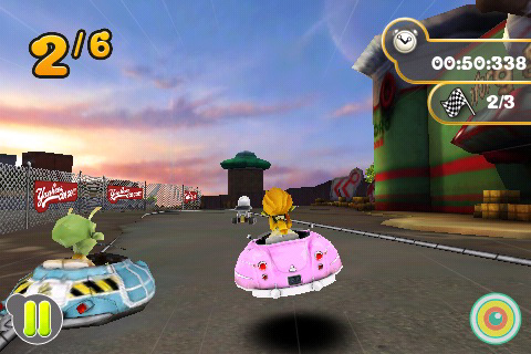 Screenshot Planet 51 Racer Lite