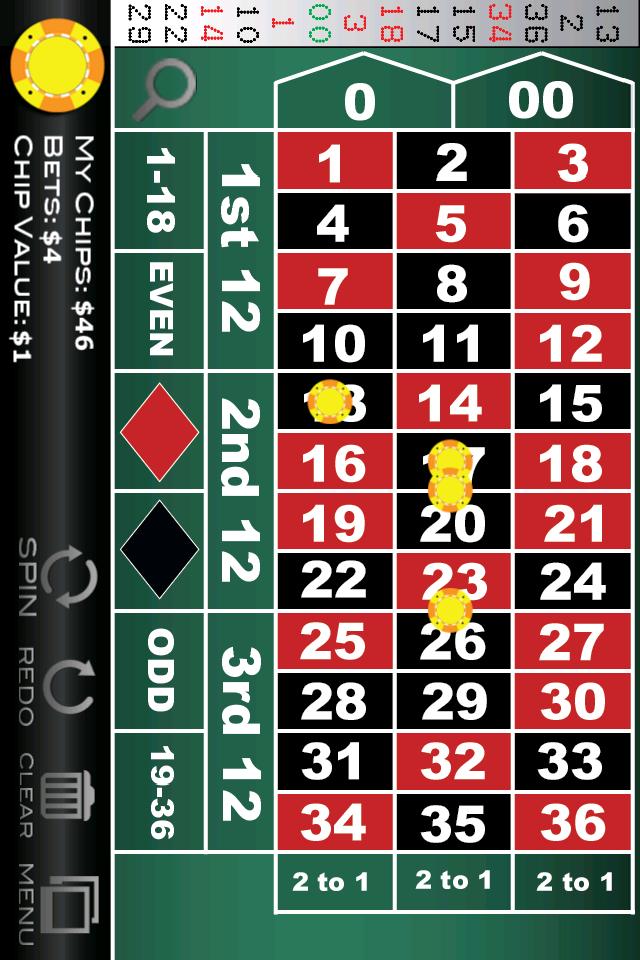 Screenshot Roulette Pro Lite